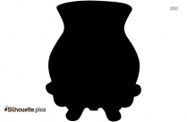 Weller Pottery Vases Silhouette Image And Vector
