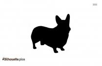 Clipart Cute Dog Silhouette Clip Art