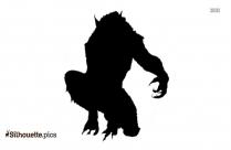 Werewolf Silhouette Image