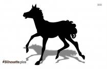 Cute Horse Silhouette