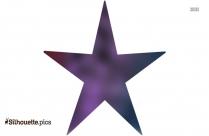 Western Star Symbol Silhouette
