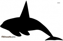 Whale Diving Silhouette Image And Vector