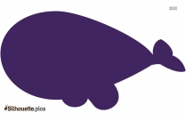 Narwhal Silhouette Background