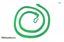 Spiga Chain Silhouette Free Vector Art
