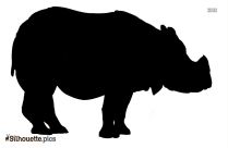 Wild Animal Silhouette Image And Vector