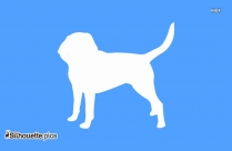 Cartoon Dog Silhouette Free Download
