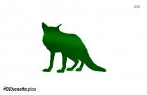 Wild Fox Picture Silhouette, Clipart