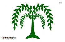Tree With Branches Silhouette Clipart