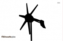 Wind Power Silhouette Image