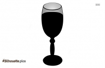 Wine Beach Party Clipart Silhouette