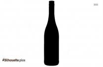 Beer Bottle Silhouette, Clipart