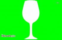 Wine Glass Clip Art Silhouette
