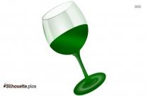 Martini Glass Silhouette Picture