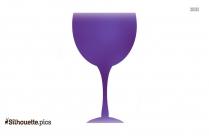 Wine Glass Silhouette Clipart