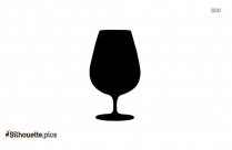 Wine Glass Drawing Silhouette