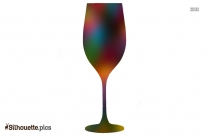 Wine Glass Silhouette Vector Image