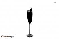 Mermaid Jeweled Stemless Wine Glass Silhouette