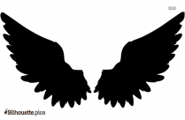 Wings Clipart Silhouette Free Vector Art