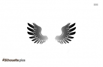 Wings Silhouette Clipart