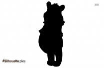 Winnie The Pooh Logo Silhouette For Download,image