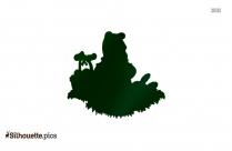 Winnie Pooh Silhouette Image