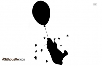 Free Pooh In Love Silhouette