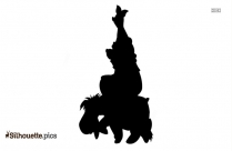 Winnie The Pooh Silhouette Image Vector