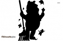 Winnie The Pooh Silhouette Vector