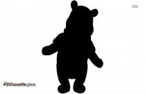 Halloween Pooh Tigger Silhouette Drawing