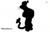 Pooh Tigger Silhouette Image