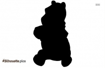 Pooh And Friend Silhouette Illustration