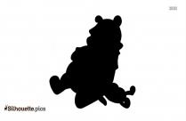 Pooh Bear Silhouette Clipart