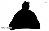 Bonnet Silhouette Art