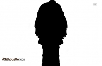 Winter Clothes Symbol Silhouette