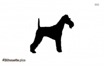 Wire Fox Terrier Silhouette