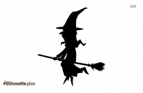 Wicked Witch Clipart Silhouette