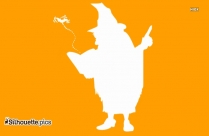 Witch Clip Art Silhouette