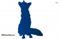Fox Art Cute Silhouette Image
