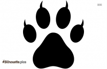 Wolf Footprint Drawings Silhouette Icon