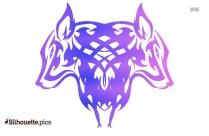 Wolf Head Tattoos Silhouette