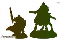 Wolf Lord Morraig Silhouette