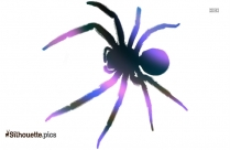 Cartoon Arachnid Camel Spider Silhouette