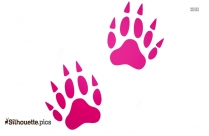 Artistic Paw Silhouette