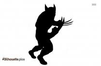 Wolverine Tattoo Vector Silhouette