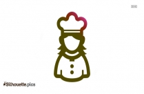 Woman Chef Silhouette