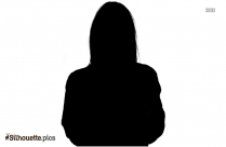 Cartoon Woman Silhouette Image And Vector