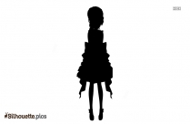 Woman Cosplay Silhouette Clip Art