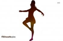 Ballerina Dance Silhouette, Fairy Dancing Clipart