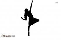 Woman Dancing Clip Art Silhouette