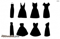 Woman Dress Silhouette Svg
